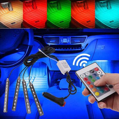 AU 4x9LED Auto Car Interior Accessories Floor Decorative Light Atmosphere Lamp 2