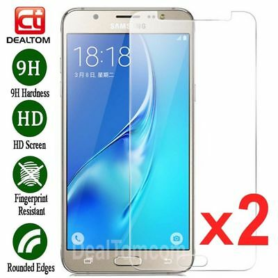 2x 9H Tempered Glass Screen Protector Film For Samsung Galaxy J3/J5/J7 2017/2016 3
