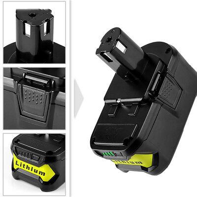 18V Lithium Battery For Ryobi ONE+ Plus P104 P108 P102 P103 P105 P107 P109 6.0AH