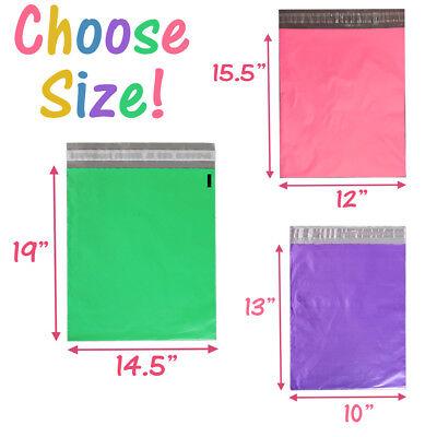 "14.5x19"", 12x15.5,10x13, 7.5x10 Poly Mailers Self Sealing Shipping Bag Envelopes 2"