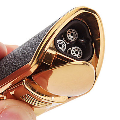 Classic Torch Windproof Triple Jet Flame Refillable Butane Cigar Torch Lighter 2