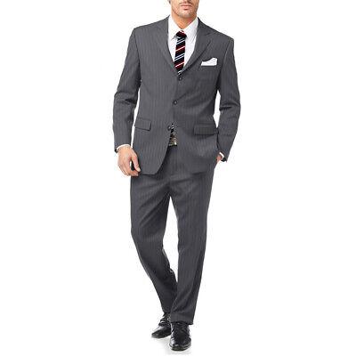 Abito Da Uomo Classico Elegante + Pochette + Cravatta Sartoria Conte Calavolpe 2