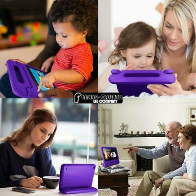 """For Amazon Fire 7"""" HD 8"""" Tablet ShockProof EVA Handle Kids Stand Cover Case +Pen 5"""