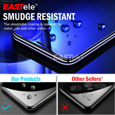 2x Apple iPhone XS MAX XR X GENUINE EASTele Tempered Glass Screen Protector Film 3