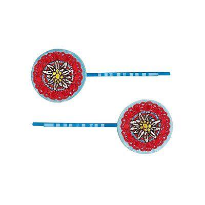 Die Spiegelburg® 50126 Haarclips Hüttenzauber  Zwei Platten mit je 2 Clips Neu 2