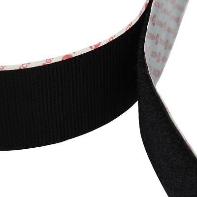 VELCRO® Hook & Loop Self Adhesive Tape 10mm 20mm 50mm Black/White Sticky Strips 8