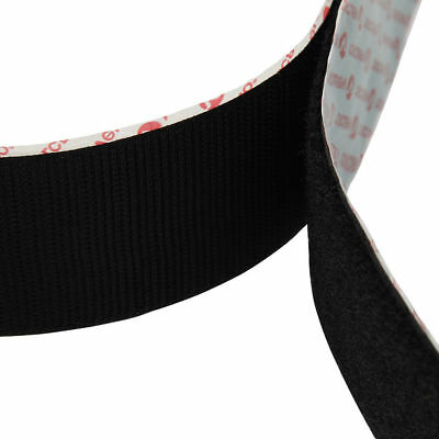 VELCRO® SELF ADHESIVE TAPE Hook and Loop Double-Sided Stick On Fastener Strips 10