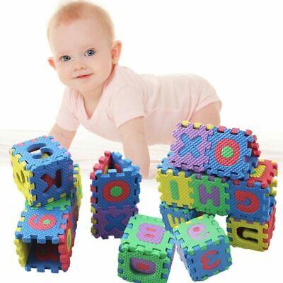 36pcs/set Alphabet & Numerals Baby Kids Play Mat Educational Toys 2