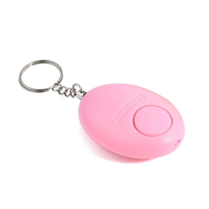Personal egg Alarm Emergency Siren Song Survival Whistle Self Defense Keychain 10