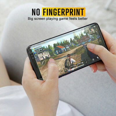 Samsung Galaxy S9 S8 Plus Note 9 8 NUGLAS Full Tempered Glass Screen Protector 5