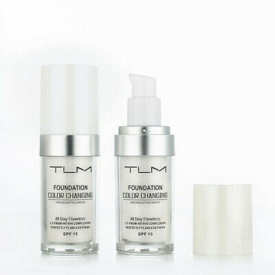 Magic Flawless Color Changing Foundation TLM Makeup Change Skin Tone Concealer 2