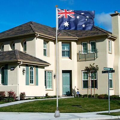 7.1M meter Aluminium Australian Aussie Flag Pole Flagpole Full Set 6