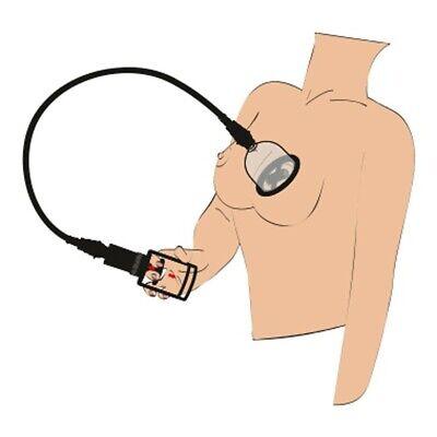 Stimolatore per seno tira capezzoli pompa per seno vibrante con vibrazione 8