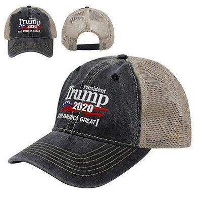 Donald Trump Republican 2020 Cap Adjustable Summer Hat Keep Make America Great 4