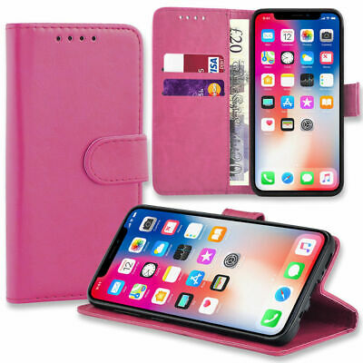 Case for Samsung Galaxy S10 S9 S8 Plus Cover Flip Wallet Leather Magnetic Luxury 4