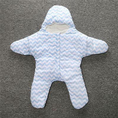bester Preis verschiedene Stile begehrteste Mode BABY KINDER SEESTERN Stern Schlafsack Fußsack für Kinderwagen o. Maxi Cosi  85 cm