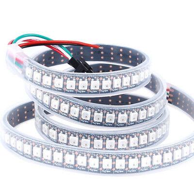 WS2812B Strip LED Lights 5050 RGB 30/60/144 LED/M IC Individual Addressable DC5V 6