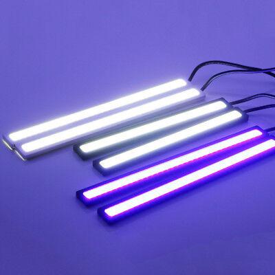 Waterproof 17cm COB Car LED Lights 12V for DRL Fog Light Driving lamp 6