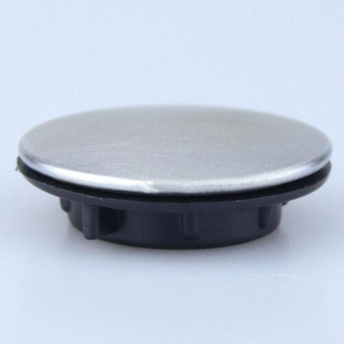 Trou de robinet d'évier obturateur bouchon plaque de recouvrement disque poli T1 4