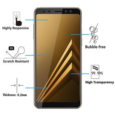"Vitre De Protection Écran Film Verre Trempe Samsung Galaxy A8 (2018) A530F 5.6"" 2"