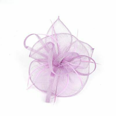Ladies Flower Feather Fascinator Aliceband Hat Hair band Formal Race Royal Ascot 2