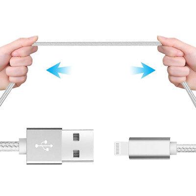 LOT3 CABLE USB CHARGEUR POUR IPHONE X 8 7 6S 6 PLUS 5 SE XR XS MAX Rapide 2Mètre 11