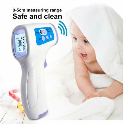 Medical NON-CONTACT Body Forehead IR Infrared Laser Digital Thermometer 6