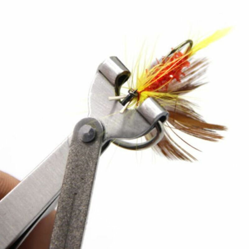 Useful Quick Knot Tool 4 in 1 Fly Fishing Clippers Line Nipper Tying w/ Zinger~ 7