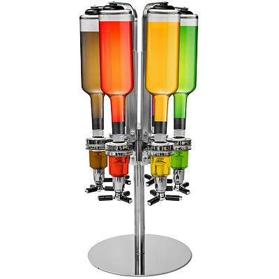 Getränkeportionierer 6 Flaschen Bar Butler Flaschenhalter Getränkespender Tisch