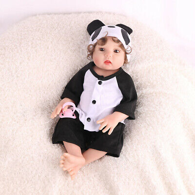 "16"" Lifelike Reborn Baby Doll Full Body Silicone Anatomically Xmas Gifts Dolls 12"