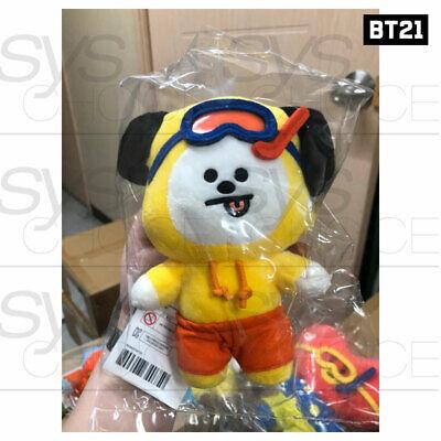 BTS BT21 Official Authentic Goods Von Voyage Summer Doll 15cm 5.9in + Tracking# 4