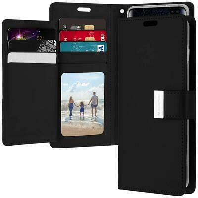 Galaxy S10 S10e S10+ Plus S9 S8 Case  Goospery Wallet Leather Card Slot Samsung 2