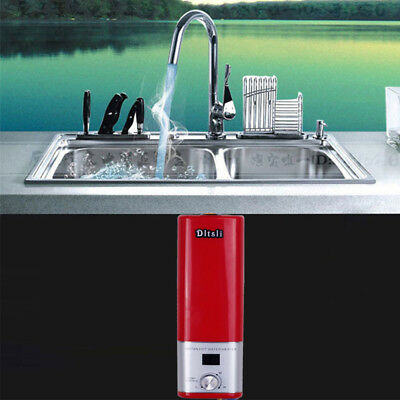 Electric Water Heater Portable Camping Outdoor Shower Instant Hot Water System 3
