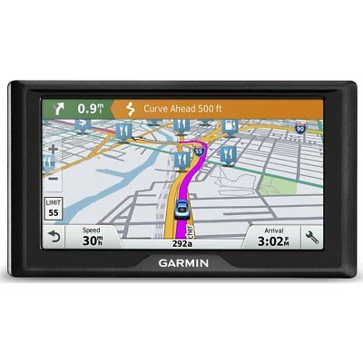 """Garmin Drive 60LM Auto GPS with Lifetime Continental US Maps & 6"""" Screen"""