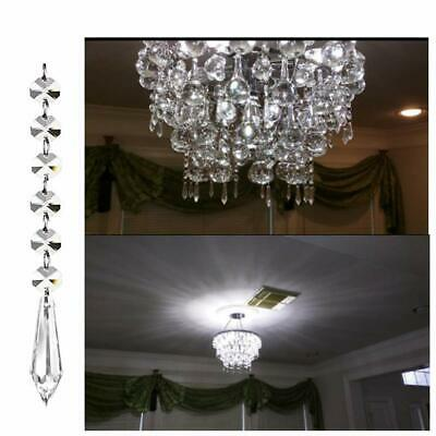 12x Acrylic Crystal Bead Manzanita Tree Hanging Strand Wedding Centerpiece Decor