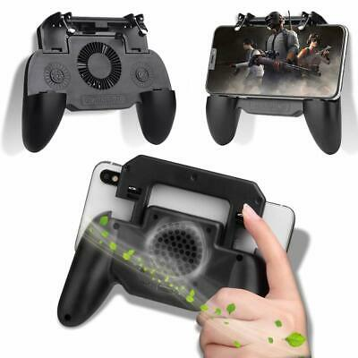 Mobile Phone Game Controller Joystick Cooling Fan Gamepad for PUBG Android IOS 12