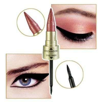 Dual-ended Metallic Shimmer Novel Liquid Eyeliner Eyeshadow Women Makeup Beauty 6