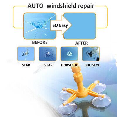 Windscreen Windshield Repair Tool Set DIY Car Kit Wind Glass For Chip Crack Fix 4