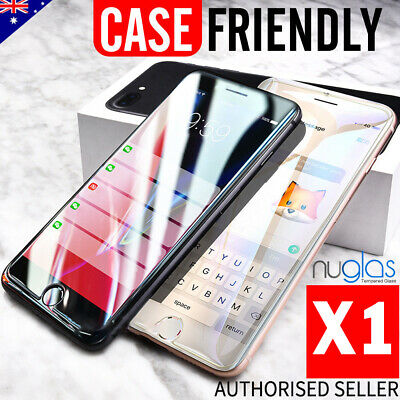 For iPhone 8 Premium NUGLAS Tempered Glass Screen Protector Superior Protection 11