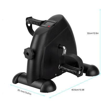 Mini Fitness Heimtrainer Fahrradtrainer Arm- und Beintrainer Bike Trimmrad LCD 8