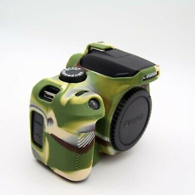 Rubber Silicon Case Cover Protector Skin for Canon EOS 3000D 4000D Rebel T100 5