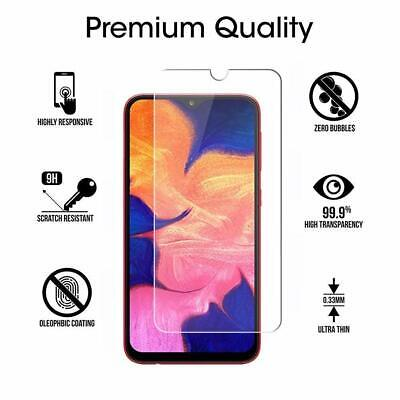 PELLICOLA VETRO TEMPERATO per SAMSUNG A10 A 10 PROTEGGI SCHERMO DISPLAY LCD 5