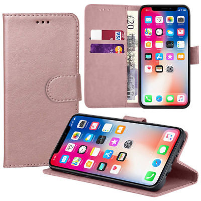 Case for iPhone 6 7 8 5s Se Plus XS Max Flip Wallet Leather Cover Magntic Luxury 6