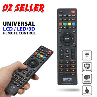 Universal TV Remote Control LCD/LED For Sony/Samsung/Panasonic/LG/TCL/Soniq AUS 5
