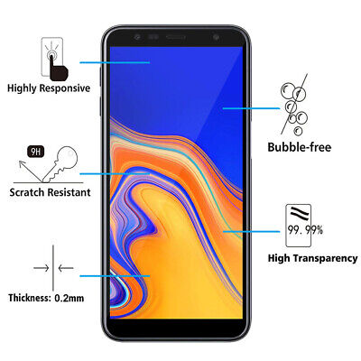 Vitre De Protection Écran Film Verre Trempe Samsung Galaxy J6+/ J6 Plus (2018) 2