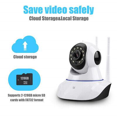 1080P WIFI IP Camera WHITE Wireless Outdoor CCTV HD Home Security IR Cam 2Mp 7
