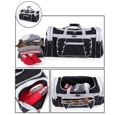 Duffle Bag Sport Gym Carry On Travel Luggage Shoulder Tote HandBag Waterproof 9