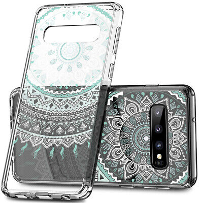 Galaxy S10 Plus S9 S8 Plus S7 Note 8 9 Shockproof Clear Case Mandala For Samsung 5