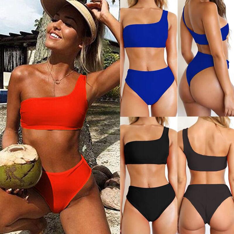 Brazilian Womens Bikini Set Bandage Push-Up Padded Swimwear Swimsuit Bathing UK 4