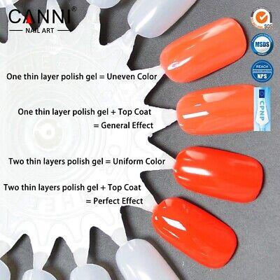 Premium Nail Gel Polish UV LED Set CANNI Colour Varnish Glitter Top 15,000+ SOLD 8